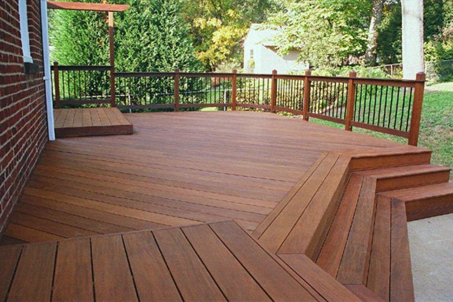 deck staining Lynchburg va